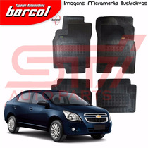 Tapete Borracha Interlagos Cobalt 2011 A 2016 Borcol 4 Peçs