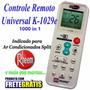 Controle Remoto Universal Ar-condicionados Split Rheem
