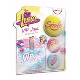 Educando Soy Luna Kit Vip Jam C/ Pins Modelos Aleatorios Tv