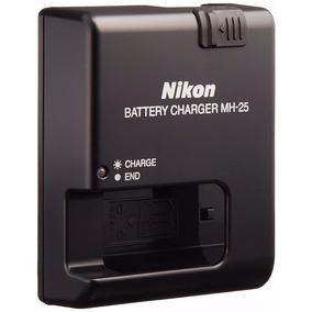 Cargador Bateria Nikon En-el15 Mh-25 D7200 D7000 D7100 D800