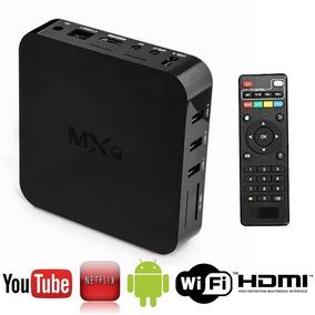 Smart Tv Ott Box Android Tv Quad Core Mxq Netflix Youtube
