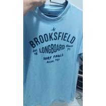 Camisa Brooksfield Original Azul Nova Tamanho P