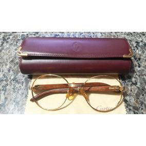 Óculos / Armação Cartier Em Ouro 18k Original E Legítima.
