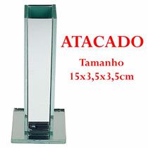 Kit 40 Vaso Solitário Vidro Decoração Flores Casamento 15cm