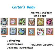 Babadores Impermeaveis Carters Original Masc Fem