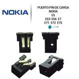 Pin Puerto De Carga Nokia E5 E63 E66 E7 E71 E72 E75