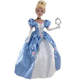 Muñeca Princesa Cenicienta Disney De Porcelana De 45 Cms