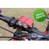 Lampara Led Para Bicicleta 5000 Lúmenes (envio Gratis)