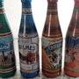 Botellas Cerveza Quilmes X4 Historia 1890 - Mgvip La Plata