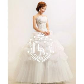 Vestido Debutante Princesa Mod.002 Leque Romantic Pronta Ent