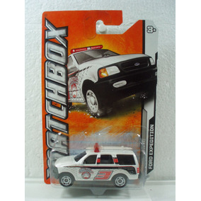 Matchbox Camioneta Ford Expedition Mbx Artic Blanco 73/120