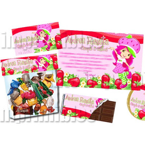 Rosita Fresita Super Kit Imprimible Para Cumpleaños! Bfn