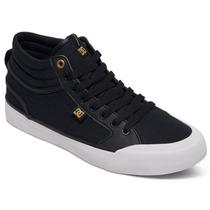 Tenis Calzado Hombre Evan Smith Hi Fall 2016 Negro Dc Shoes