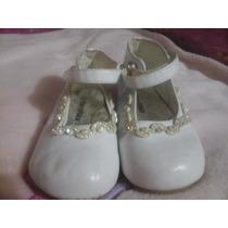 Zapatos De Niña Blancos Floricientas