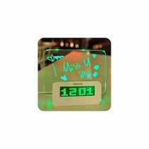 Reloj Despertador Digital, C/pizarra Mágica, Local, Fact A !