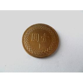 Taiwan Moeda De 1 Yuan Bronze Soberba Coleção