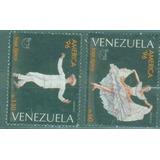 Estampillas Venezuela Trajes Tipicos Usada