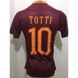 Camiseta Roma A.s 2016/2017 Totti