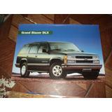 Gm/chevrolet Silverado Cabine Dupla Tropical Catalogo