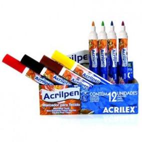 Caneta Para Tecido Acrilpen Acrilex 1 Unidade