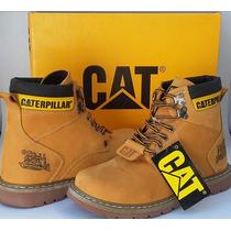 Bota Caterpillar Mostarda Modelo Second Shift Boot