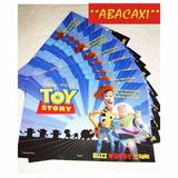 Invitacion Cumpleaños X 10 Cotillon Toy Story