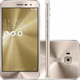 Zenfone 3 Ze552kl Novo 64gb Anatel Nf 4gb Ram 4k Ac Troca