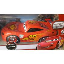 Rayo Mcqueen Cars Disney Control Remoto 42 Ctms Envio Gratis