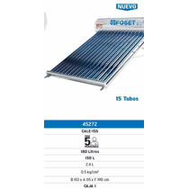Calentador Solar De 15 Tubos