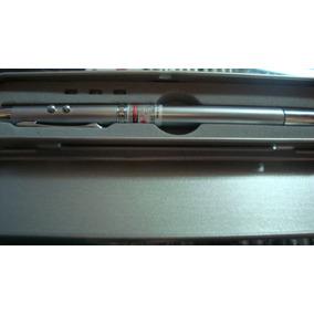 Boligrafo 4 En 1 Apuntador Laser Lampara Señalador Y Pluma
