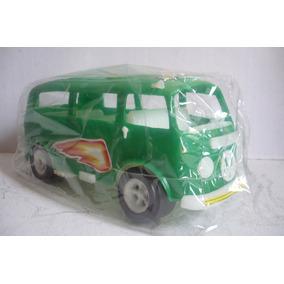 Vw Combi Volkswagen - Juguete Escala Antiguo Marca Welco