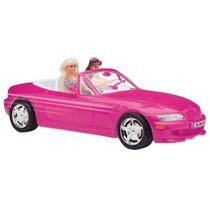 Carro Conversível Para Barbie Roadster Pink Grande 46 Cm