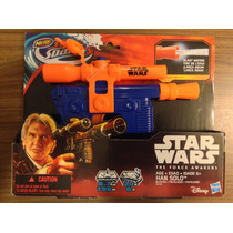 Star Wars The Force Awakens Han Solo Blaster Nerf Agua