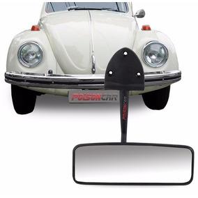 Espelho Retrovisor Interno Fusca 75/ Preto Fixação Parafuso