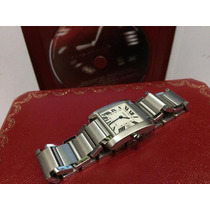 Cartier Tank Frances 9cito Mediano Fechador Impecable