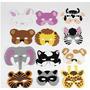 12 Surtido De Espuma Máscaras De Animales Para La Fiesta De