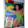 Revista Manchete - Luiza Brunet - 1986