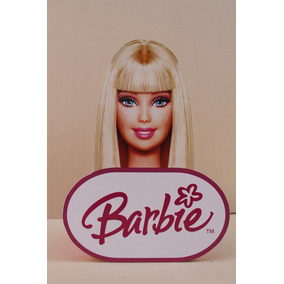 Centro De Mesa De Barbie Para Fiestas Infantiles
