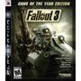 Fallout 3 Goty Ps3 Original Físico En Disco Envíos