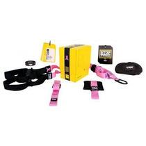 Sistema De Suspension Trx Rosa Crossfit, Fitness Incluye Env