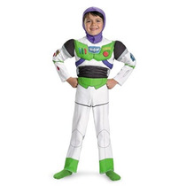 Disfraz Para Niño Traje De Toy Story Buzz Lightyear Deluxe