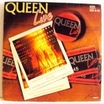 467 Mvd- 1985 Lp- Queen Live- Vinil Disco Original