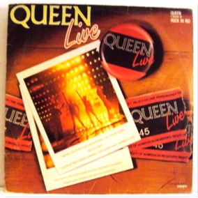 467 Mvd- 1985 Lp- Queen Live- Vinil Disco Original