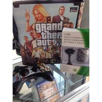 Xbox 360 Slim + Hd Externo 500 Gb Lotado De Jogos