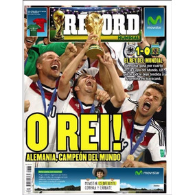 Periodicos Record Mundial Brasil 2014 Oferta Unica!!