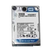 Hd 320gb Western Digital Scorpio Blue Wd3200bevt 5400 Rpm 8m
