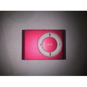 Mini Mp3 Metalico Tipo Shuffle Clip Micro Sd Hasta 32gb