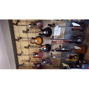Guitarra Gibson Lp Studio Faded Bag Worn Brow - Wood Music