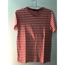 Camiseta Gola V Tshirt Polo Ralph Lauren Masculina P Small