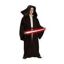 Disfraz Para Niña Traje Túnica Con Capucha Star Wars Sith D